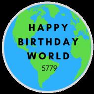 Happy Birthday World 5779