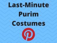 Last-MinutePurim Costumes
